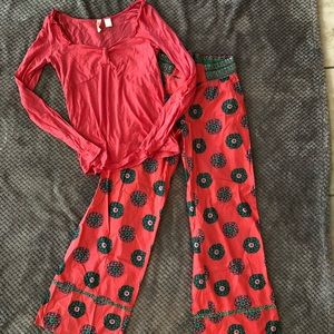 Women's Sz M Anthropologie Sleep Set